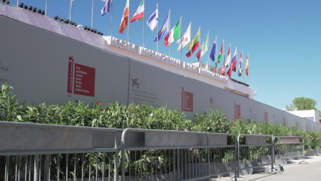 general views - the 77th venice film festival on september 3, 2020 in venice, italy . - lido stock videos & royalty-free footage