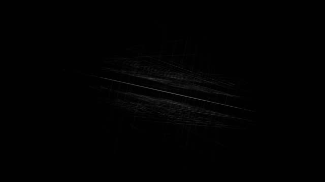 generated 3d abstract background with geometry lines and dots, futuristic network connection - black background stock videos & royalty-free footage