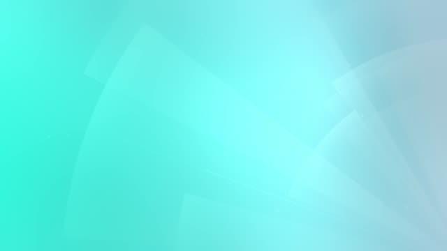 cg ha generato uno sfondo astratto 3d seamless loop con linee e forme geometriche - loopable moving image video stock e b–roll