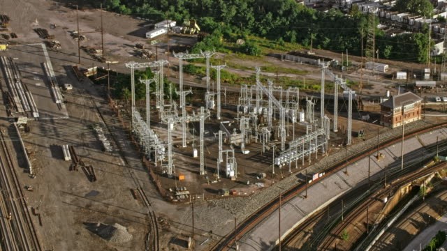 AERIAL Generating station in Pennsylvania, USA