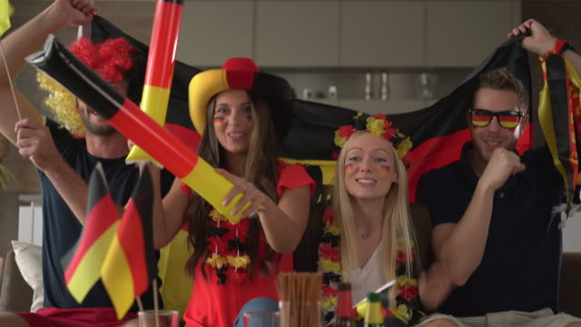 Generation Y cheering for Germany