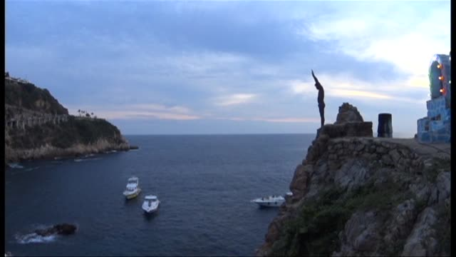 Generations of Mexican cliff divers have made a living entertaining tourists visiting Acapulco