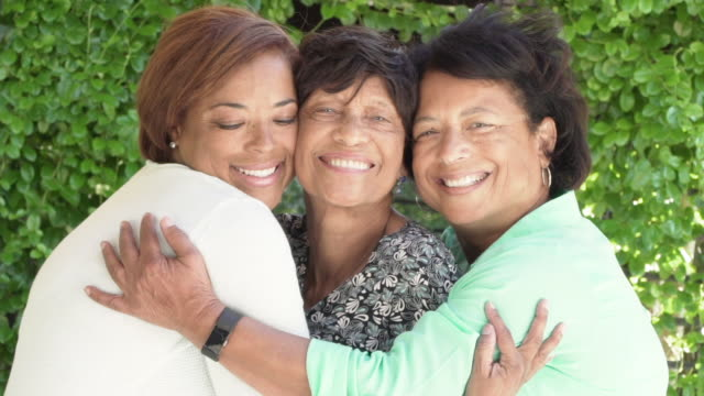 3 generations of woman in a family - three people stock videos & royalty-free footage