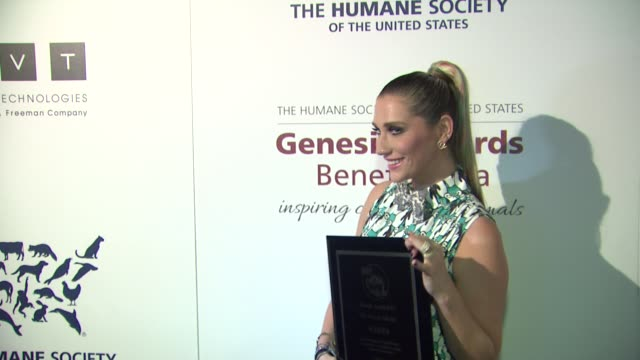 genesis awards benefit gala presented by the humane society of the united states, los angeles, ca, united states, 3/23/13 . - モービー点の映像素材/bロール