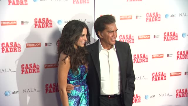 genesis rodriguez jose luis el puma rodriguez at casa de mi padre los angeles premiere on 3/14/12 in los angeles ca - padre stock videos & royalty-free footage