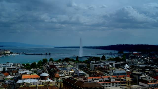 Geneva and lake Geneva