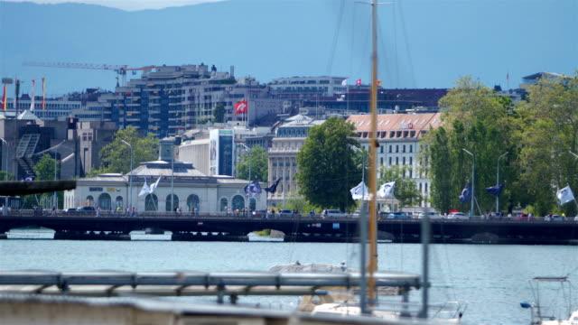 geneva, switzerland - switzerland stock videos & royalty-free footage
