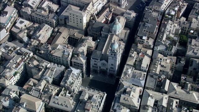 Genoa  - Aerial View - Liguria, Provincia di Genova, Genoa, Italy
