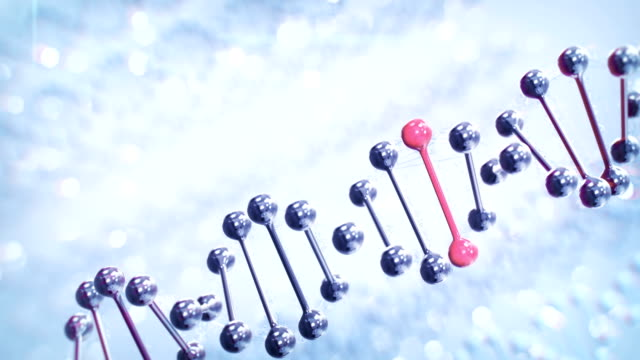 genome editing (diagonale, luminoso) - dna video stock e b–roll