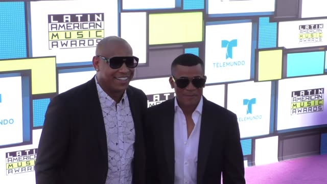 Gente De Zona at the 2016 Latin American Music Awards at Dolby Theatre in Hollywood at 2016 Latin American Music Awards on October 06 2016 in...