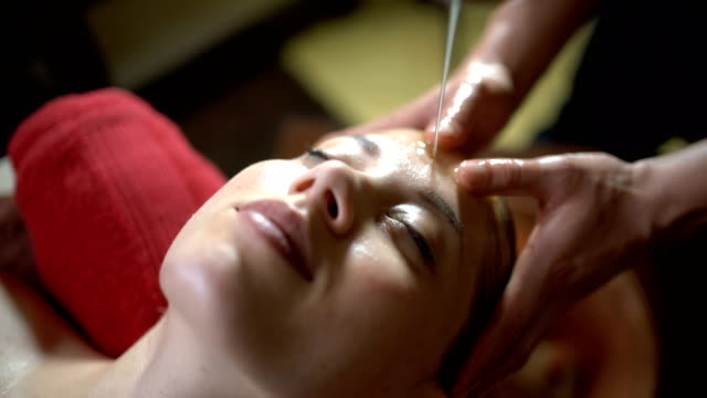 gentle pampering - massage table stock videos & royalty-free footage