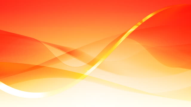 Gentle Waves Background Loop Orange