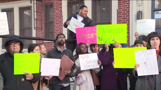 WPIX Gentrification Protests in Brooklyn