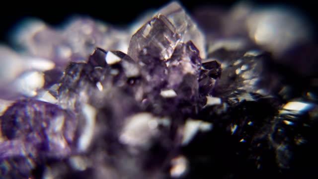 Geode Crystal Motion Background