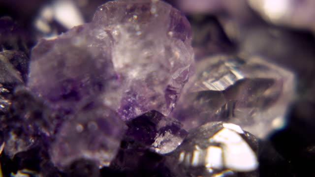 Geode Purple Crystals