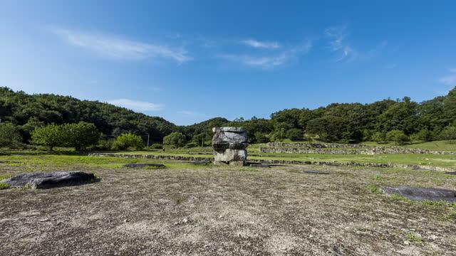 vídeos y material grabado en eventos de stock de geodonsa temple site / wonju-si, gangwon-do, south korea - rodear