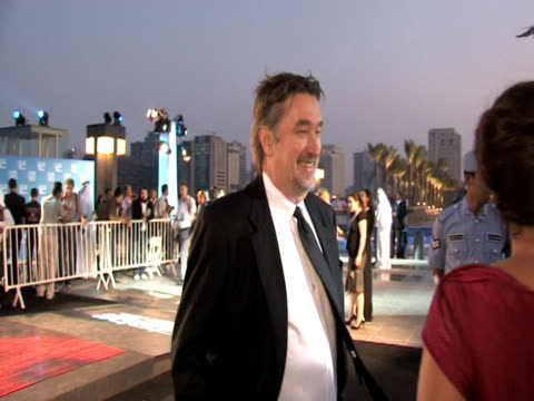 geoffrey gilmore at the doha tribeca film festival 2009 - day 1 highlights at doha . - day 1 stock videos & royalty-free footage