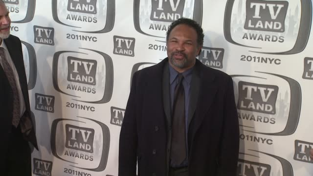geoffrey owens at the 9th annual tv land awards - arrivals at new york ny. - malcolm jamal warner stock videos & royalty-free footage