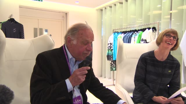 geoffrey palmer at shop with the stars at fenwick on april 10 2014 in london england - geoffrey palmer stock videos and b-roll footage
