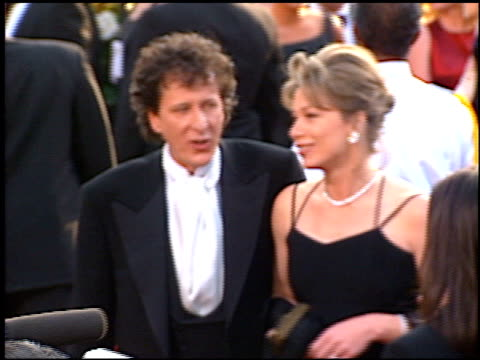 geoffrey rush at the 1997 academy awards arrivals at the shrine auditorium in los angeles california on march 24 1997 - 69th annual academy awards stock videos and b-roll footage