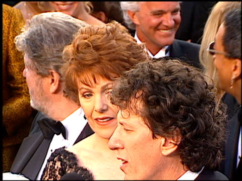 geoffrey rush at the 1997 academy awards arrivals at the shrine auditorium in los angeles california on march 24 1997 - 69th annual academy awards stock videos & royalty-free footage