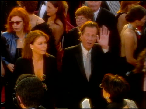 geoffrey rush at the 2001 academy awards at the shrine auditorium in los angeles california on march 25 2001 - 73rd annual academy awards stock videos & royalty-free footage