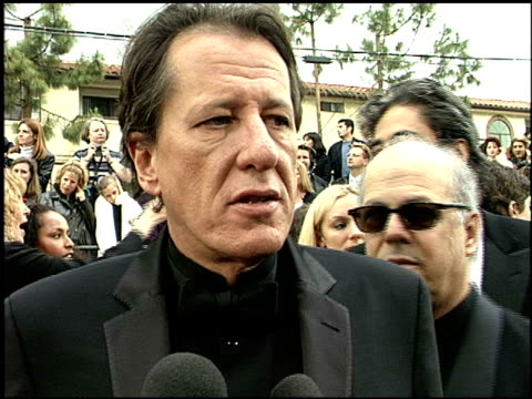Geoffrey Rush at the 2001 Screen Actors Guild SAG Awards arrivals at the Shrine Auditorium in Los Angeles California on March 11 2001