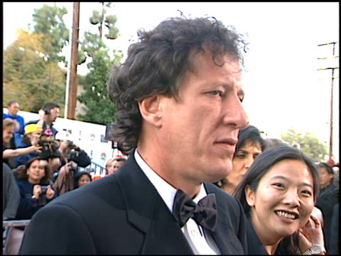 geoffrey rush at the screen actor's guild awards at the shrine auditorium in los angeles, california on february 22, 1997. - shrine auditorium stock-videos und b-roll-filmmaterial