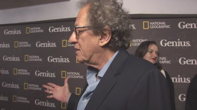 vidéos et rushes de geoffrey rush being on berlin, his character, national geographic brand, the new pirates of the caribbean: dead men tell no tales, cannes 2017 at... - haymarket