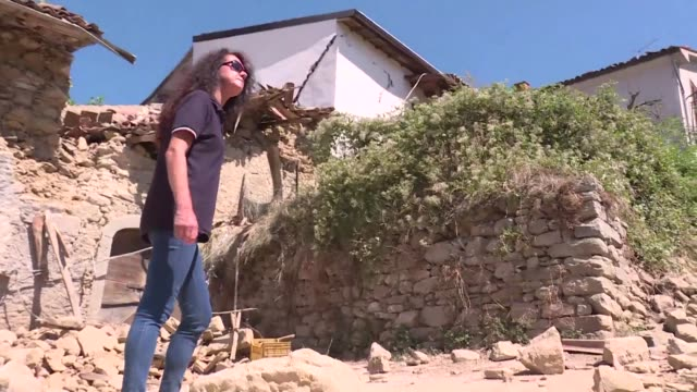 a geologist warns italy didnt learn from previous earthquakes as villages in the centre of the country struggle to come to terms with the latest... - geologist stock videos & royalty-free footage