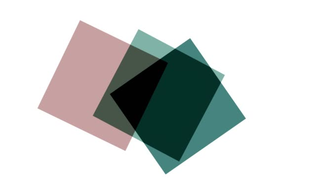 geometrc colour shapes: squares - morphing stock videos & royalty-free footage