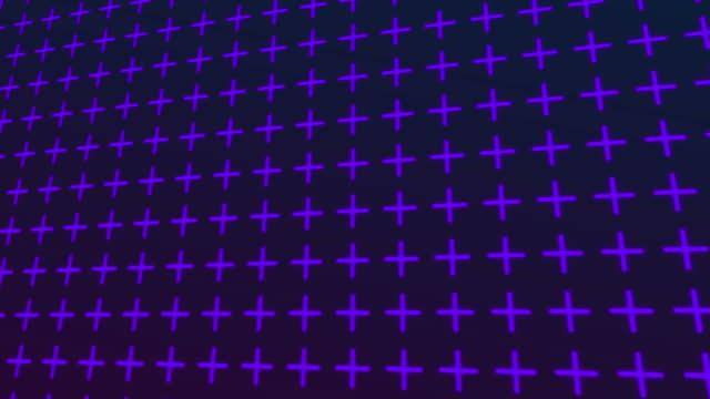 stockvideo's en b-roll-footage met geometrische abstracte achtergrond - plus key