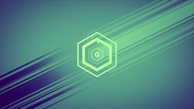 Geometrische Form Hintergrund animierte
