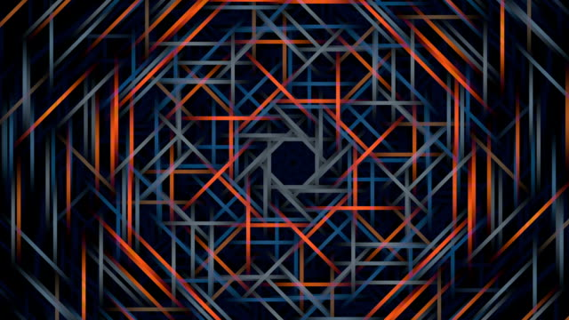 """geometric lines, abstract animation"" - symmetry stock videos & royalty-free footage"