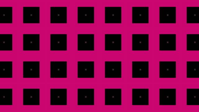 動きの幾何学的形状, 万華鏡パターン - 投影図点の映像素材/bロール