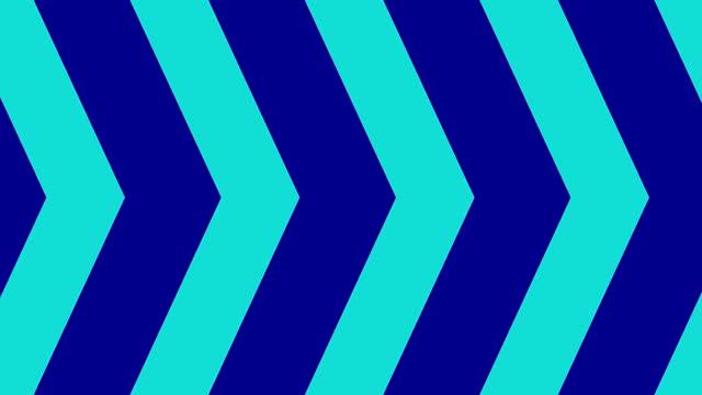 forme geometriche animazione del modello colorato sfondo astratto - dissolvenza in apertura video stock e b–roll