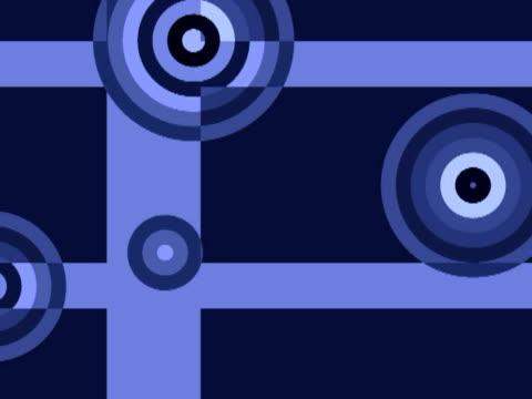 cgi, geometric shapes - formatfüllend stock-videos und b-roll-filmmaterial