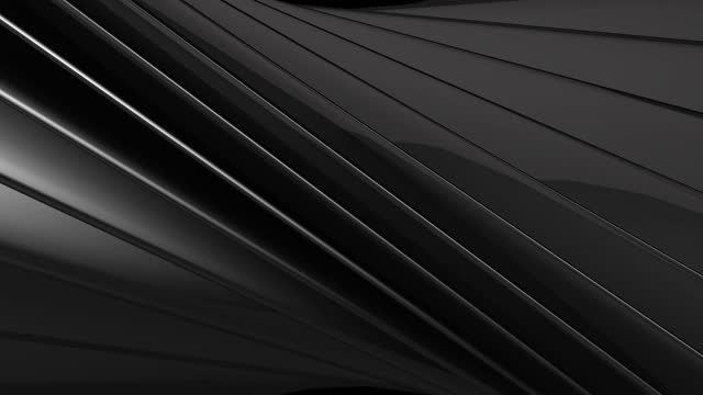 geometric tech black glossy and silver metallic stripes abstract motion background stock video turkey, 4k resolution, abstract, animation - moving image, art - gray background stock videos & royalty-free footage
