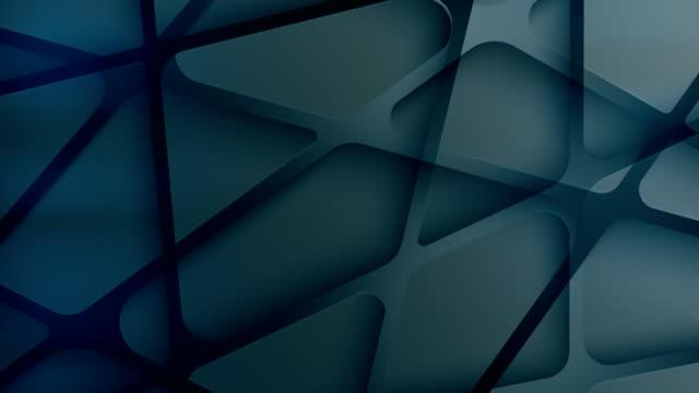 vídeos y material grabado en eventos de stock de fondos de triángulos geométricos - caleidoscopio patrón