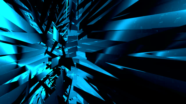 Geometrische background.3d animation