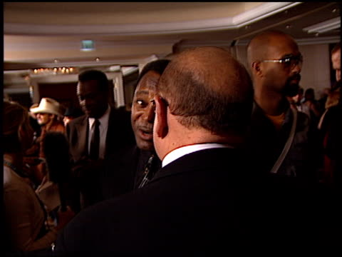george benson at the clive davis' grammy awards party at the beverly hilton in beverly hills, california on february 20, 2001. - clive davis stock videos & royalty-free footage