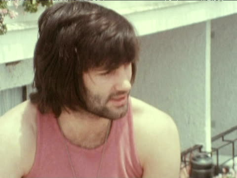george best discusses his retirement from football and absconding to spain 1972 - bbc archive stock-videos und b-roll-filmmaterial