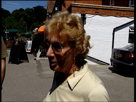 drinking allegations itn england surrey tadworth gv 'the chequers' pub bv press encamped outside chequers pub pan and zoom in bv best in pub bv best... - lager stock videos & royalty-free footage