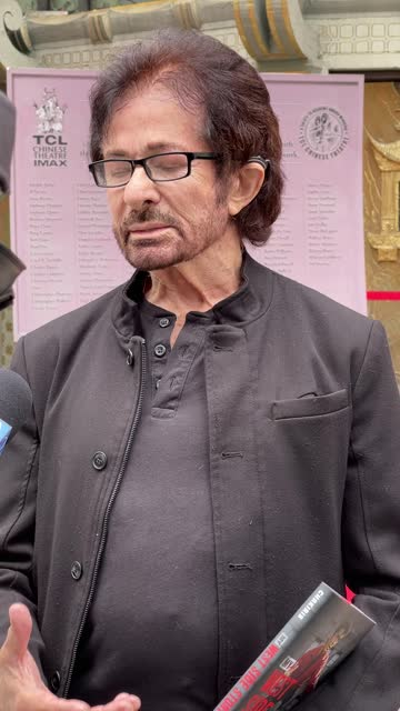 """george chakiris celebrates the 60th anniversary of """"west side story"""" with the unveiling of a new plaque honoring all oscar winners'... - tcl chinese theatre stock videos & royalty-free footage"""