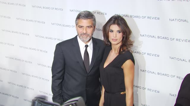 George Clooney and Elisabetta Canalis at the 2010 National Board Of Review Awards Gala at New York NY