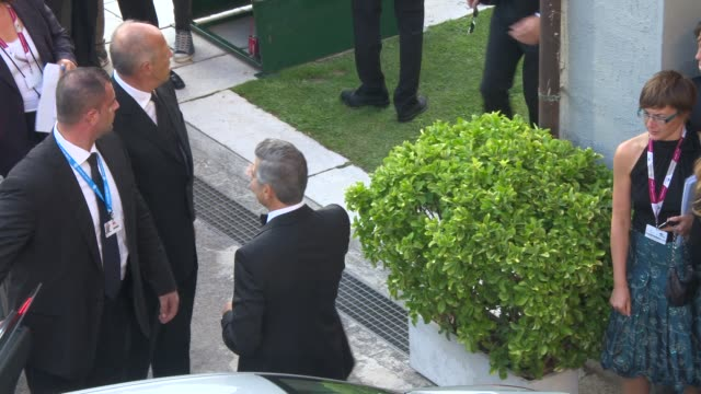 George Clooney at George Clooney at Celebrity Sightings Venice on on August 27 2013 in Venice Italy