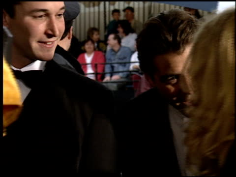 george clooney at the 1995 people's choice awards at universal studios in universal city california on march 5 1995 - noah wyle stock videos and b-roll footage