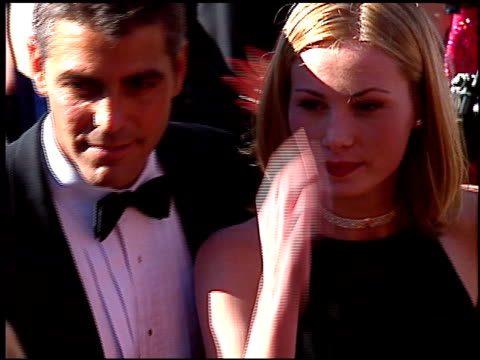 george clooney at the 1996 emmy awards arrivals at the pasadena civic auditorium in pasadena california on september 8 1996 - pasadena civic auditorium stock videos & royalty-free footage
