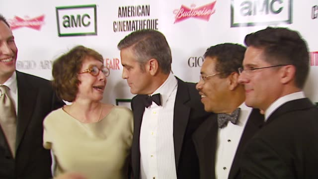 george clooney at the 2006 annual american cinematheque awards honoring george clooney at the beverly hilton in beverly hills, california on october... - american cinematheque stock-videos und b-roll-filmmaterial
