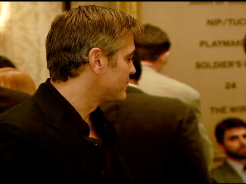 george clooney at the 2007 afi awards honors creative teams at four seasons hotel in los angeles calfironia on january 11 2008 - 2008 stock videos & royalty-free footage